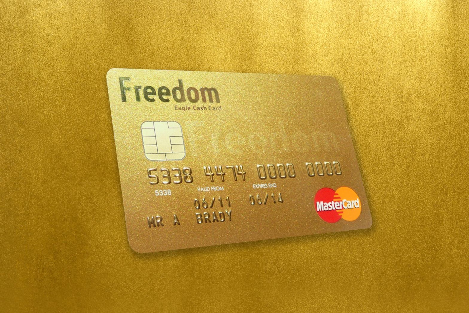 White Eagle Freedom Card